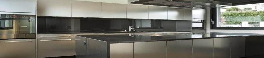 Hudson kitchens silver design