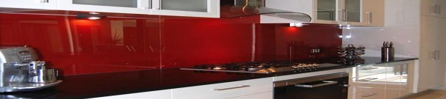 All about kitchens Red Splash