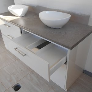 Dual Basin Bathroom - Bathroom Renovations Sunshine Coast