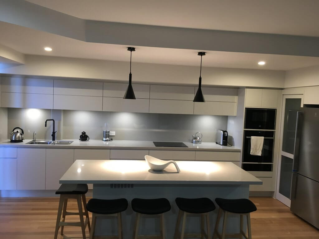 Long Kitchen Designs - Kitchens Sunshine Coast